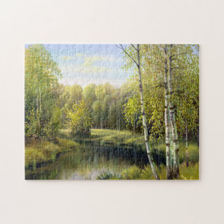 Beautiful Spring Painting Puzzle