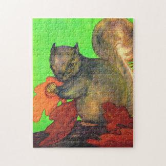 beautiful squirrel jigsaw puzzle