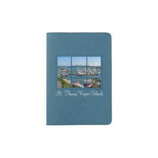 Beautiful St Thomas Virgin Islands Passport Holder