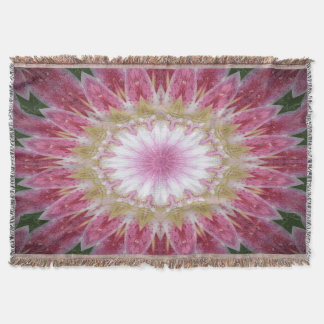 Beautiful Star Tiger Lily Throw Blanket