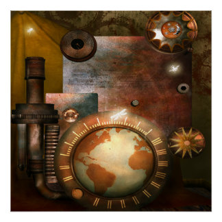 Beautiful Steampunk Poster