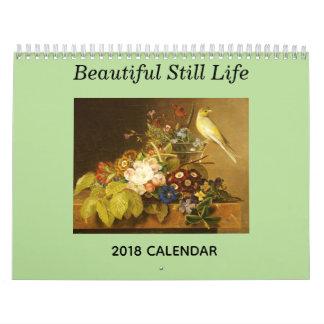 Beautiful Still Life 2018 Calendar