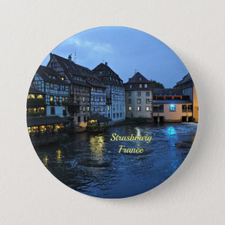 Beautiful Strasbourg, France 7.5 Cm Round Badge