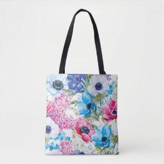 Beautiful Summer Floral Pattern | Tote Bag