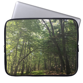 Beautiful Summer Forest Photo Electronics Bag