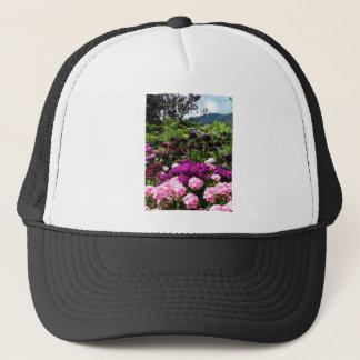 Beautiful summer garden in BC Canada Trucker Hat