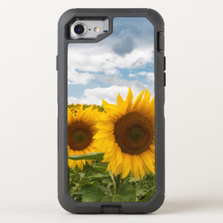 beautiful summer sunflowers OtterBox defender iPhone 7 case