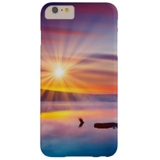 Beautiful summer sunset in the lake barely there iPhone 6 plus case