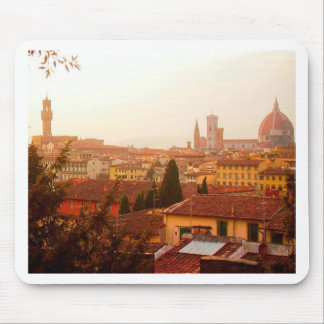 Beautiful summer view from Florence Mouse Pad