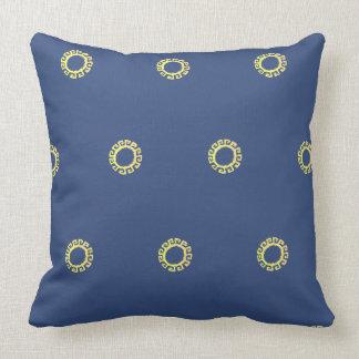 Beautiful sun design cushion