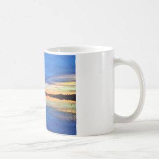 Beautiful sundown basic white mug