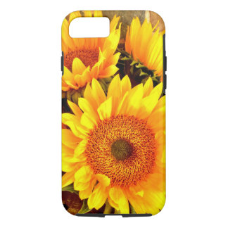Beautiful Sunflower Bouquet Gifts iPhone 7 Case