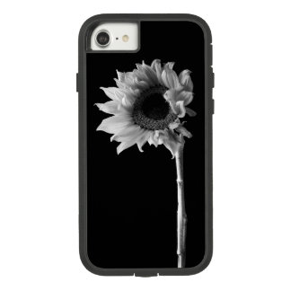 Beautiful Sunflower Portrait in Black and White Case-Mate Tough Extreme iPhone 8/7 Case