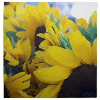 Beautiful Sunflowers Cloth Napkins
