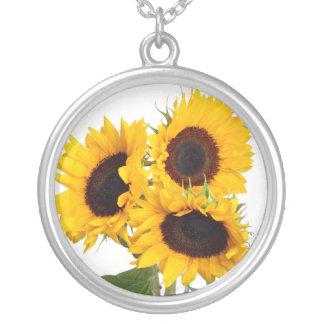 Beautiful Sunflowers Necklace