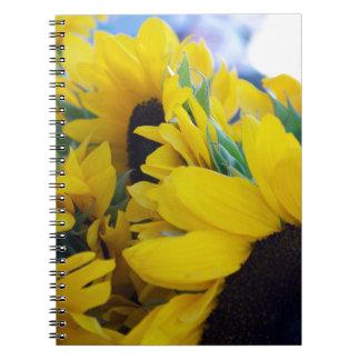 Beautiful Sunflowers Notebook