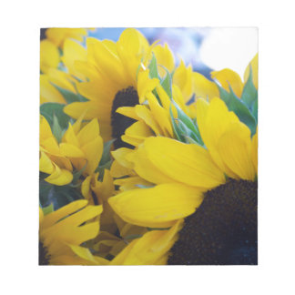 Beautiful Sunflowers Notepad