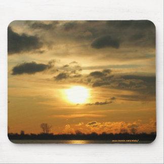 Beautiful sunrise mousepad design