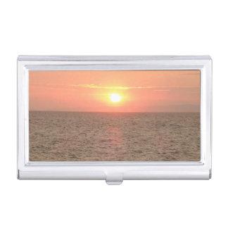 Beautiful Sunset Business Card Holder