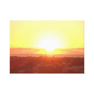 Beautiful Sunset Canvas