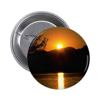 Beautiful Sunset Colorado River Arizona Button