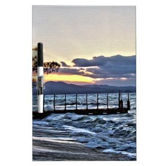 Beautiful Sunset in Montego Bay, Jamaica Dry Erase Board