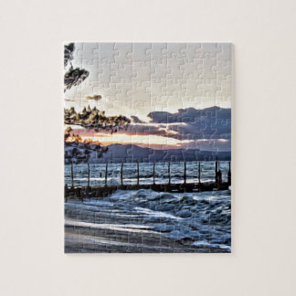 Beautiful Sunset in Montego Bay, Jamaica Jigsaw Puzzle