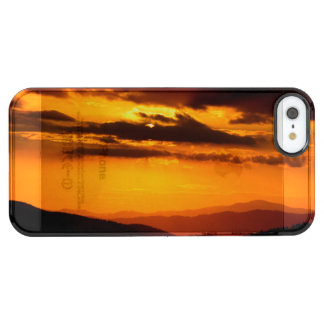 Beautiful sunset photo clear iPhone SE/5/5s case
