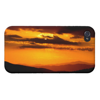 Beautiful sunset photo cover for iPhone 4