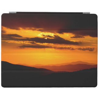Beautiful sunset photo iPad cover