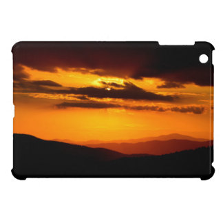 Beautiful sunset photo iPad mini cover