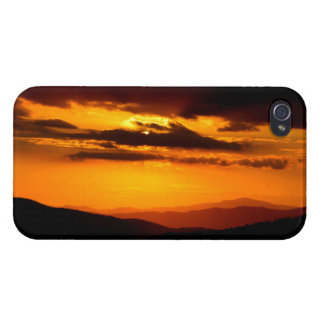 Beautiful sunset photo iPhone 4/4S cases