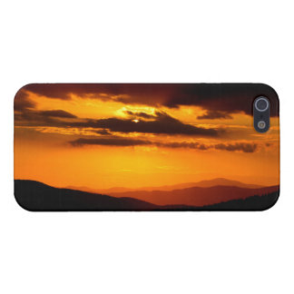 Beautiful sunset photo iPhone 5 cover
