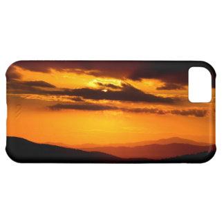 Beautiful sunset photo iPhone 5C case