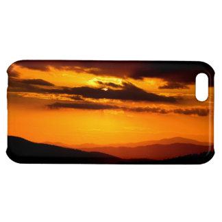 Beautiful sunset photo iPhone 5C cover