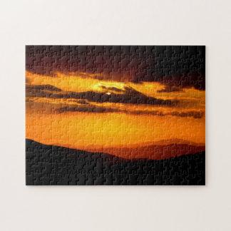 Beautiful sunset photo jigsaw puzzle
