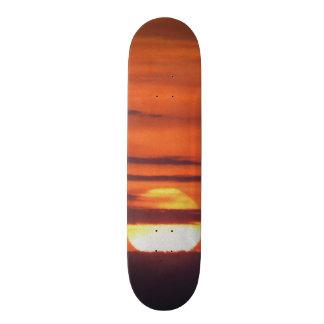 Beautiful Sunset Photo Skate Boards