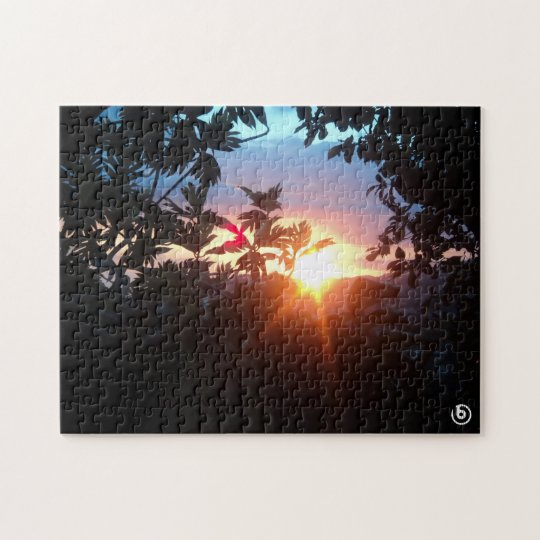 Beautiful Sunset Puzzle