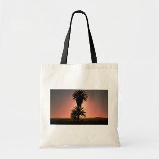 Beautiful Sunset Sahara Desert Algeria Tote Bag