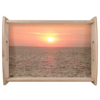 Beautiful Sunset Serving Tray