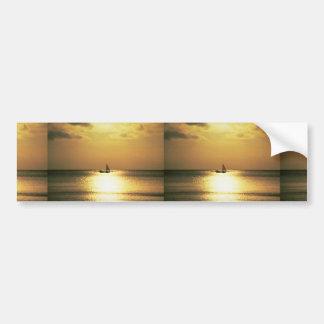Beautiful Sunset: Sumbawa, Indonesia Bumper Stickers
