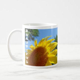Beautiful Sunshine for You & Me! Sunflower Cup Coffee Mug