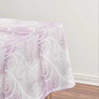 Beautiful swirls, pretty tablecloth