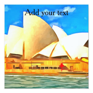 Beautiful Sydney Opera House Card
