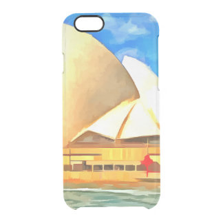Beautiful Sydney Opera House Clear iPhone 6/6S Case