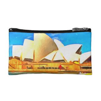 Beautiful Sydney Opera House Makeup Bag
