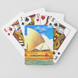 Beautiful Sydney Opera House Playing Cards