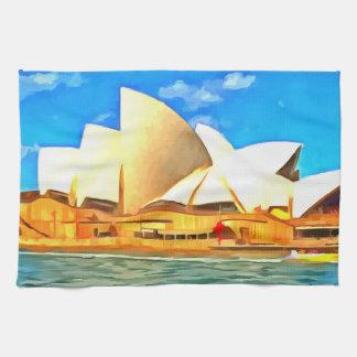 Beautiful Sydney Opera House Tea Towel