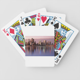 Beautiful Sydney Skyline Poker Deck