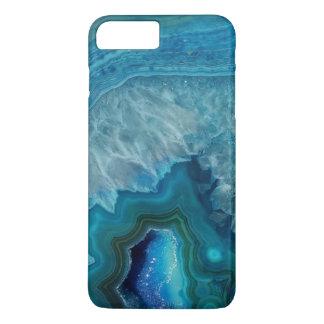 Beautiful Teal Blue Agate Stone iPhone 8 Plus/7 Plus Case